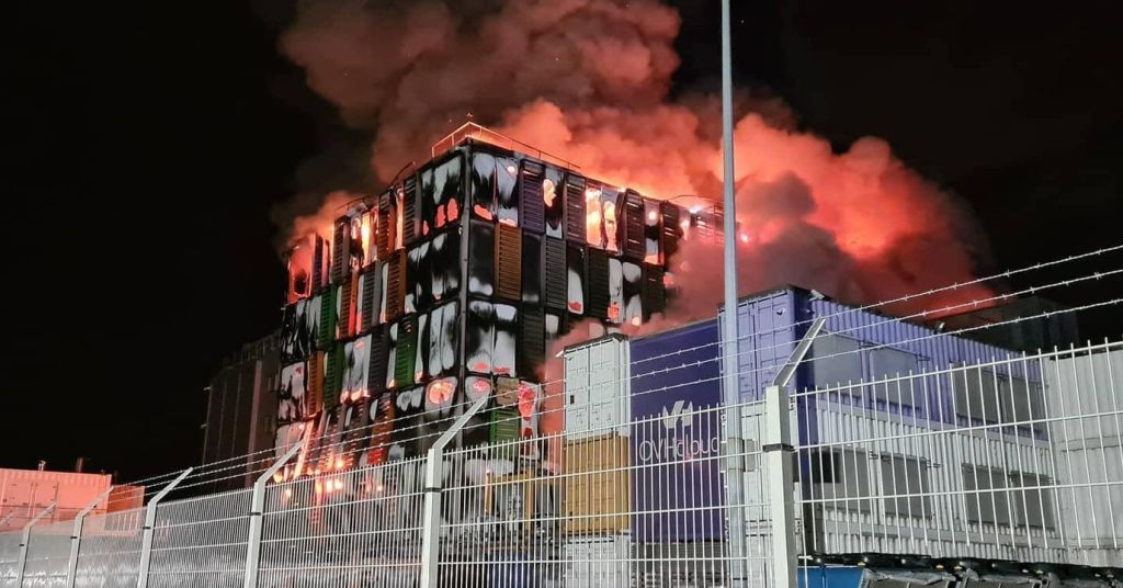 OVH data centers suffered a fire, many popular sites are offline
