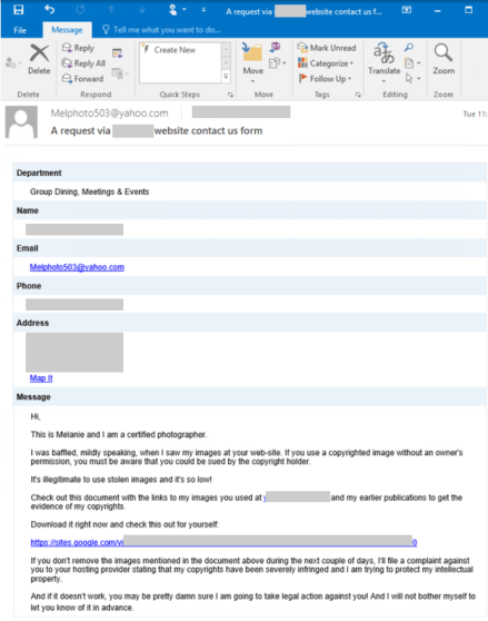 Crooks abuse website contact forms to deliver IcedID malware