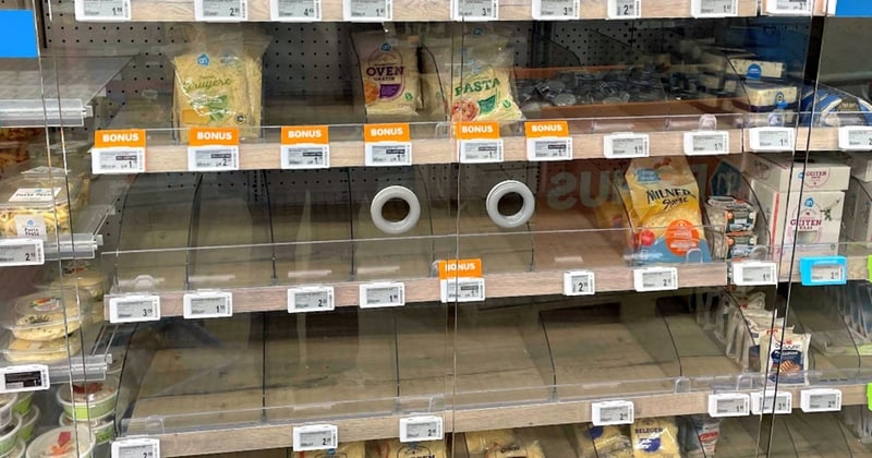 Ransomware attack causes supermarket cheese shortage in the Netherlands