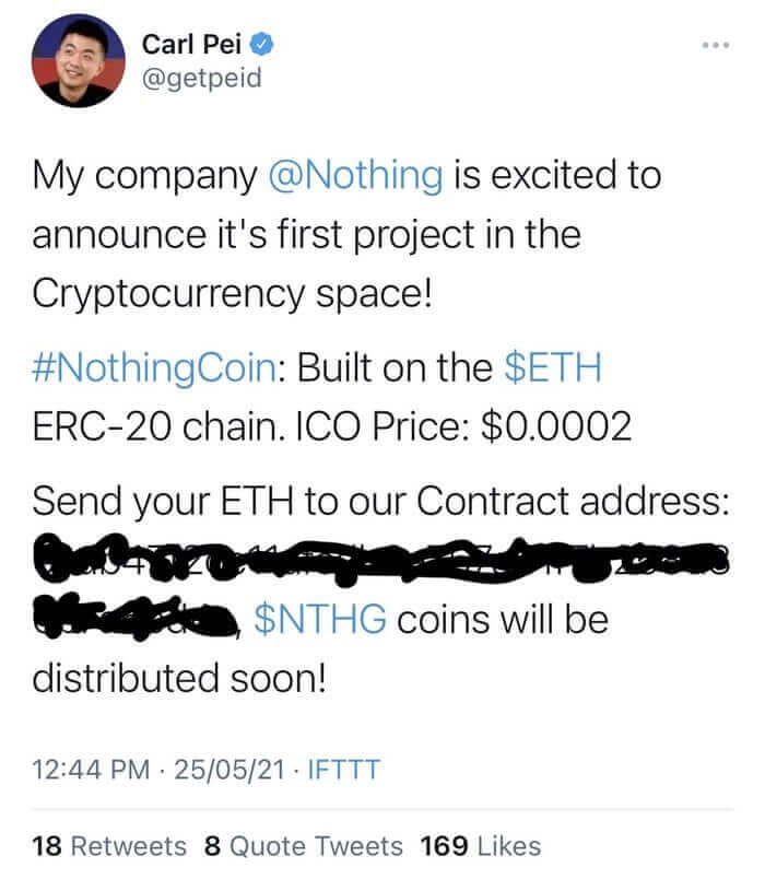Cryptocurrency scam attack on Twitter reminds users to check their app connections