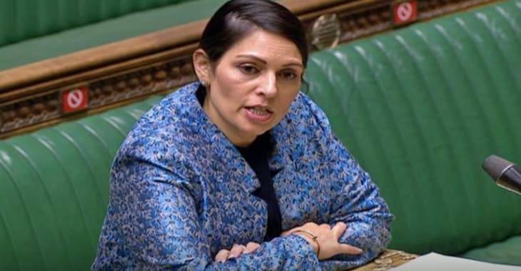 Priti Patel backs ad campaign that criticises Facebook's stance on end-to-end encryption